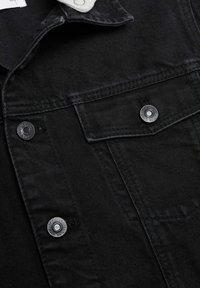 Mango - MISTY - Denim jacket - black denim - 3