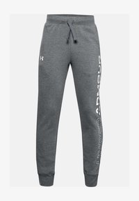 Under Armour - Tracksuit bottoms - pitch gray light heather - 0
