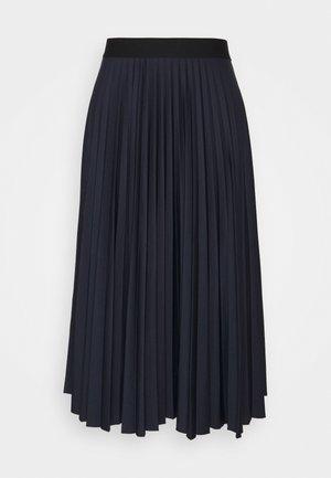 PLISEE SKIRT - Spódnica plisowana - navy