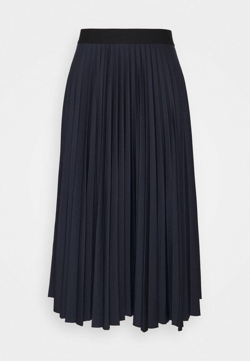 Esprit - PLISEE SKIRT - Pleated skirt - navy