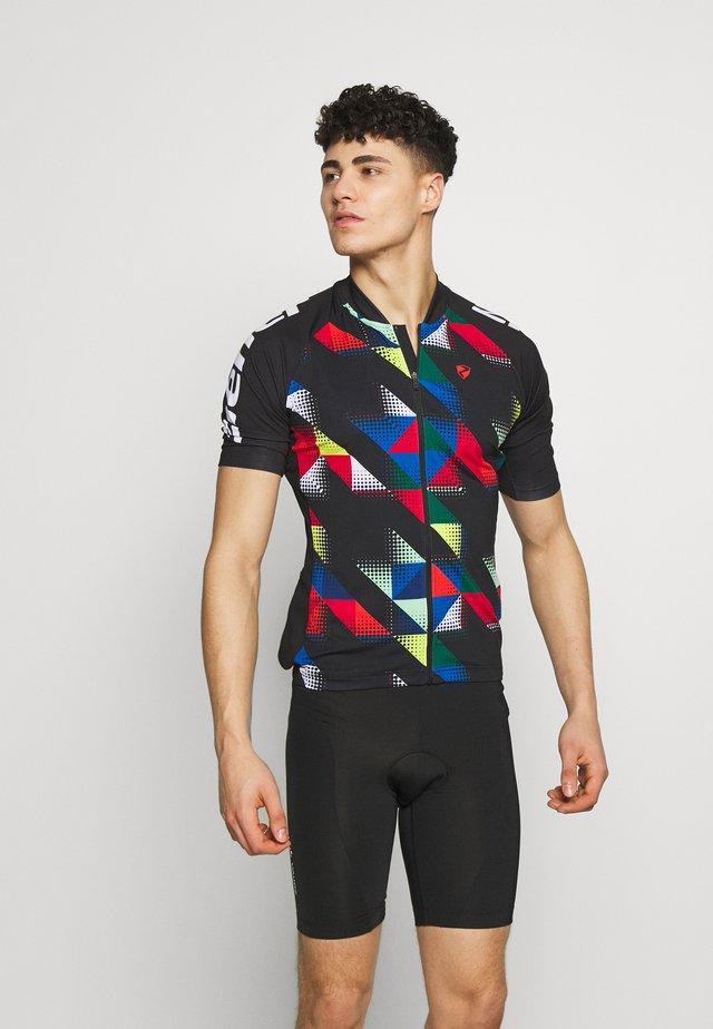 NIKOLEI - T-shirt z nadrukiem - black