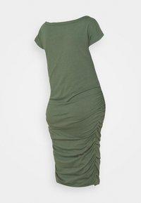 GAP Maternity - SHIRRED - Jerseyjurk - cool olive - 1