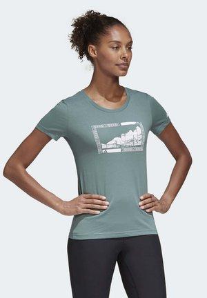 TERREX GRAPHIC T-SHIRT - T-Shirt print - green