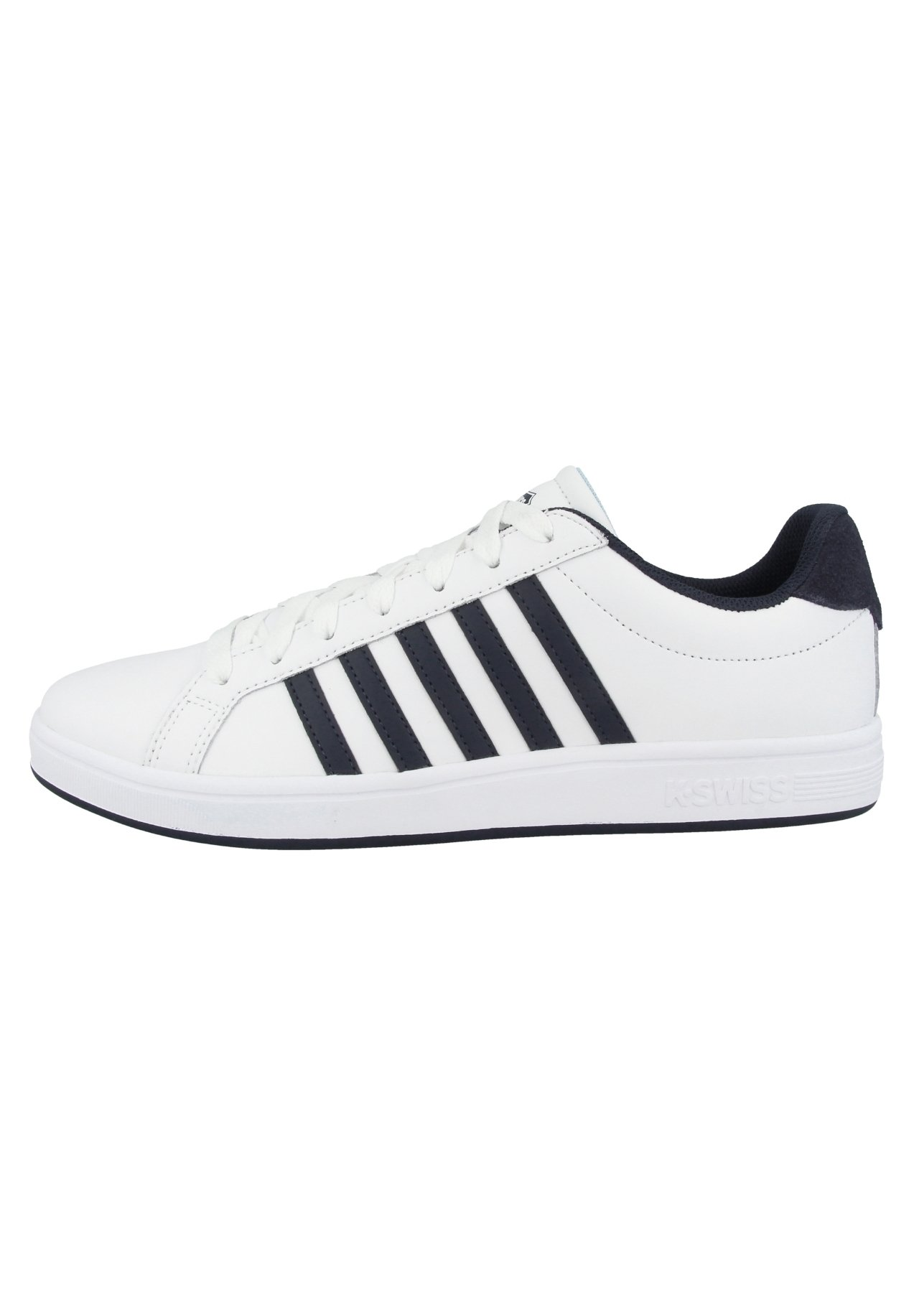 Homme COURT TIEBREAK - Baskets basses - white outer space