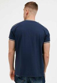 Kings Will Dream - DENSON - Print T-shirt - white navy - 3