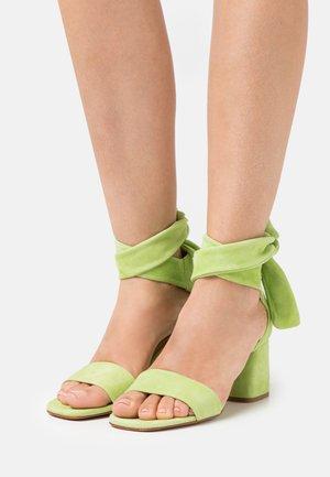 SELENE  - Sandals - pistache