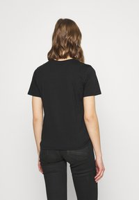 Even&Odd - HATTIE MOON AND BUTTERLY TEE - T-shirt print - black - 2