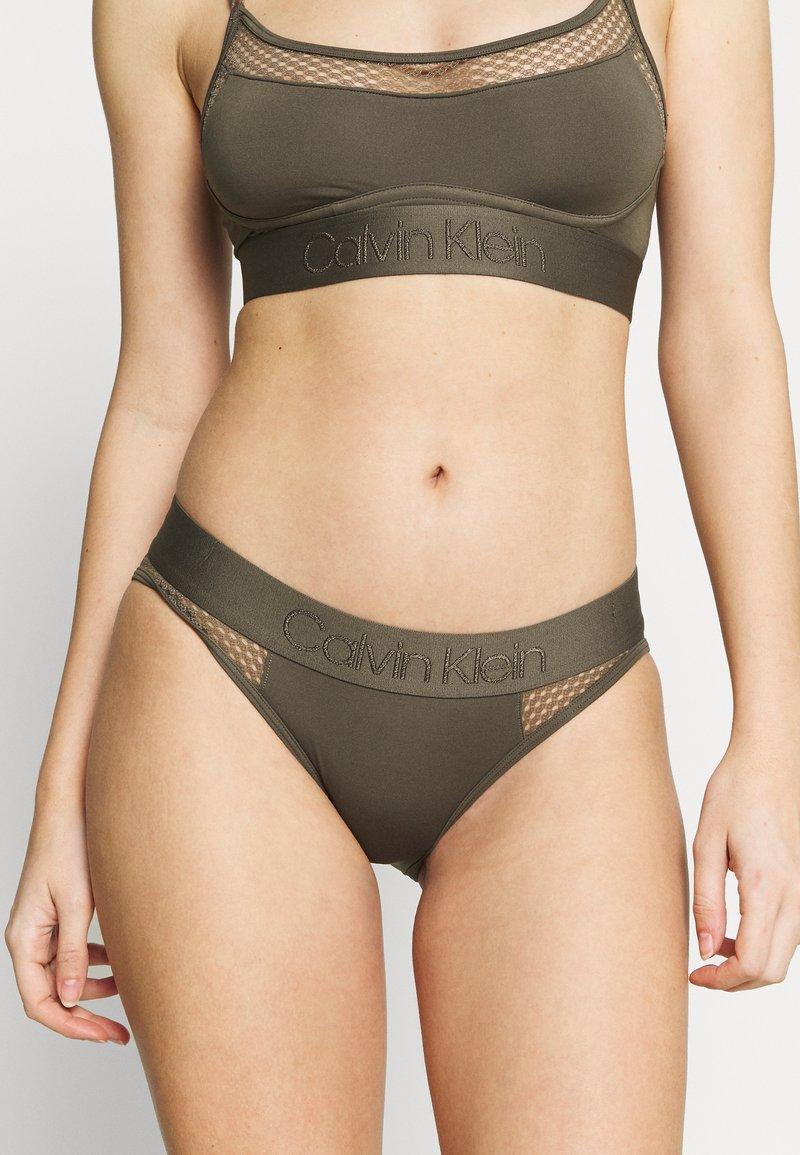 Calvin Klein Underwear - TONAL LOGO NEWNESS - Braguitas - army dust