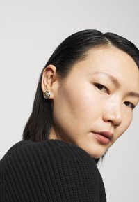 Lauren Ralph Lauren - BASIC CREST STUD - Earrings - silver-coloured - 0