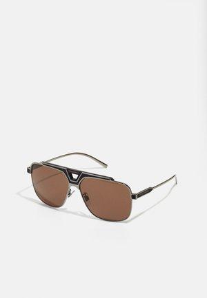 Okulary przeciwsłoneczne - bronze/black matte