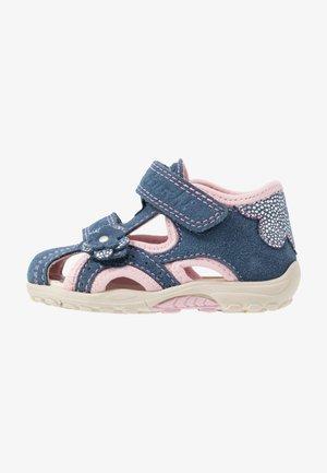 MOMO - Sandals - jeans/rose