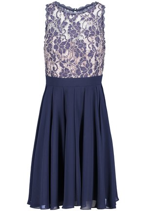 Cocktail dress / Party dress - dark blue/cream