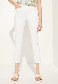 comma casual identity - Slim fit jeans - white - 0