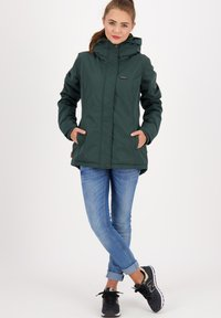 alife & kickin - NAOMIAK - Winter jacket - dark forrest - 1