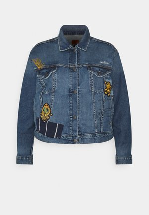 PAIZLEY JACKET - Denim jacket - tinted sapphire
