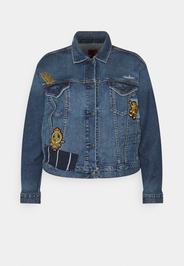 PAIZLEY JACKET - Giacca di jeans - tinted sapphire