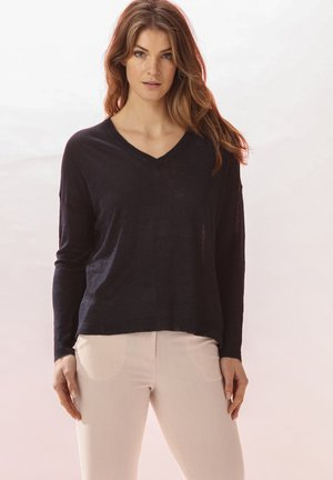 AMELIE - Long sleeved top - midnight