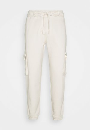 Cargo trousers - coconut milk