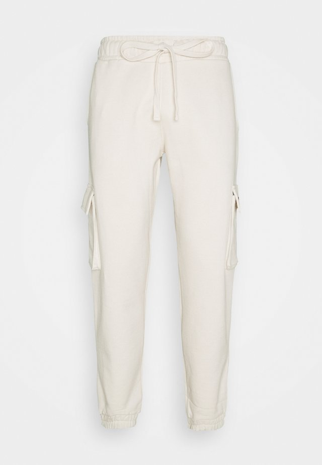 Pantalon cargo - coconut milk