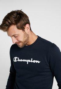 Champion - CREWNECK  - Mikina - dark blue - 3