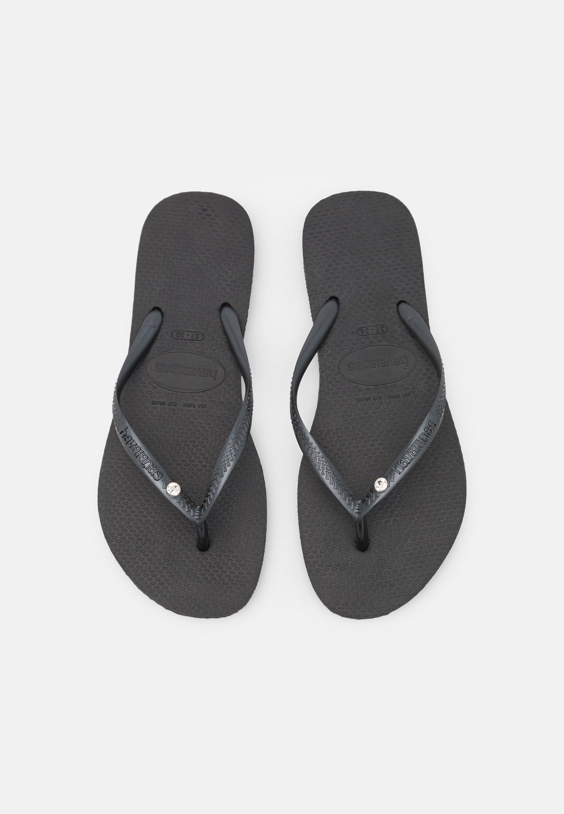 Women SLIM CRYSTAL SWAROVSKI - Pool shoes