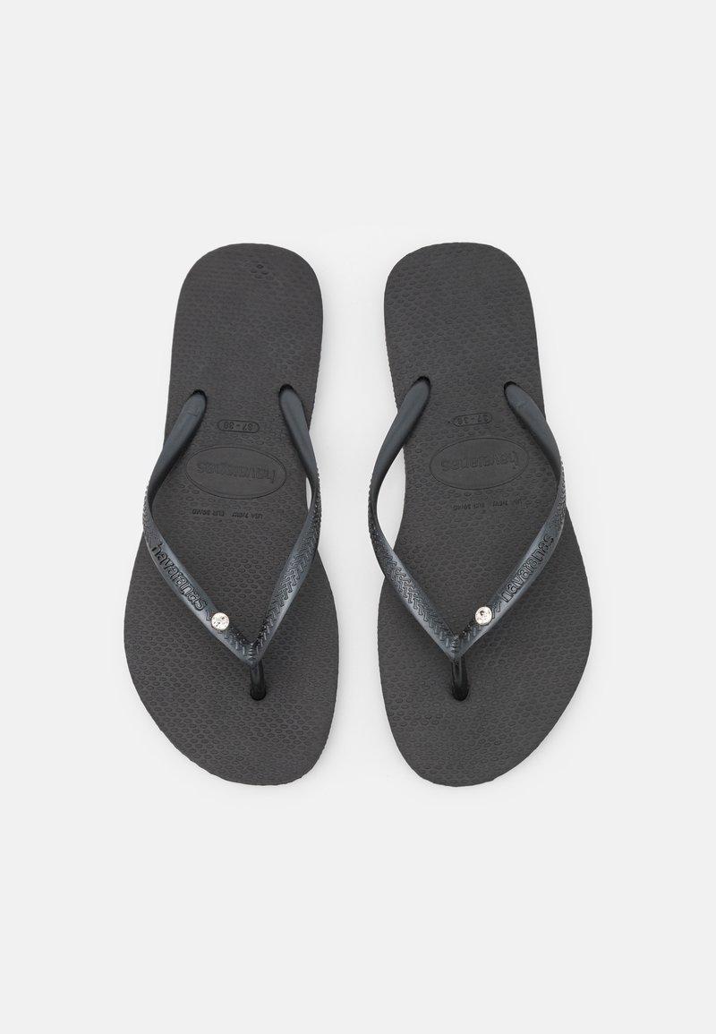 Havaianas - SLIM CRYSTAL SWAROVSKI - Pool shoes - black