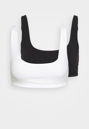ROSALIA SOFT 2 PACK - Bustier - black/white