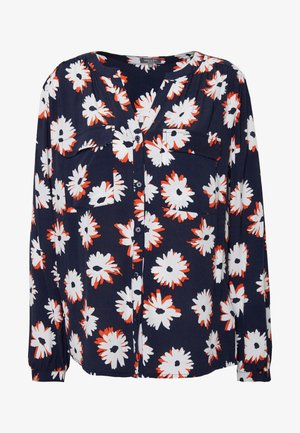 ALLOVER PRINTED BLOUSE - Blouse - navy