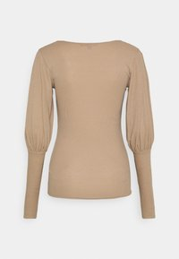 Missguided Tall - PUFF SLEEVE SQUARE NECK MILKMAID - Long sleeved top - macoron - 1