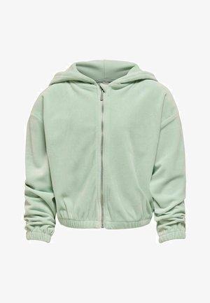 Zip-up hoodie - surf spray