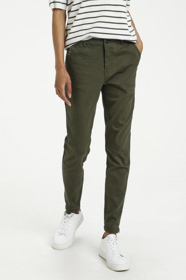 Jeans slim fit - grape leaf