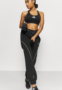 adidas Performance - Spodnie treningowe - black/white - 3