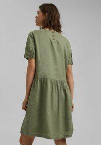 Esprit - DRESS - Day dress - light khaki - 2