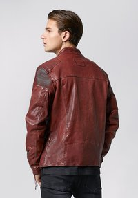 Tigha - FRANKLYN - Leather jacket - dark red - 2
