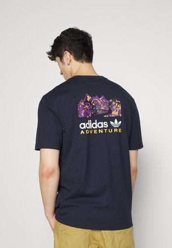 FLMOUNT TEE - T-shirt z nadrukiem - legend ink