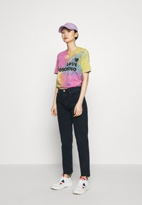 Love Moschino - TIE DYE SHIRT - Print T-shirt - color - 1