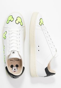 MOA - Master of Arts - EXCLUSIVE GALLERY MICKEY - Tenisky - white/neon yellow - 3
