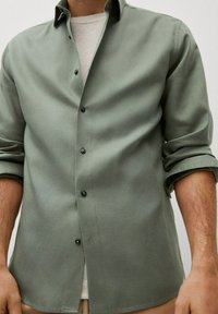 Mango - Camisa - khaki - 5