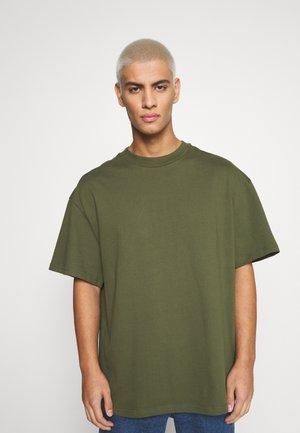 GREAT - T-Shirt basic - khaki green