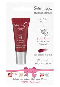 Dr. Lipp - SUPERFOOD COLOUR TINT - Lippenbalsem - elderberry - 1