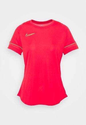 T-Shirt print - siren red/green strike