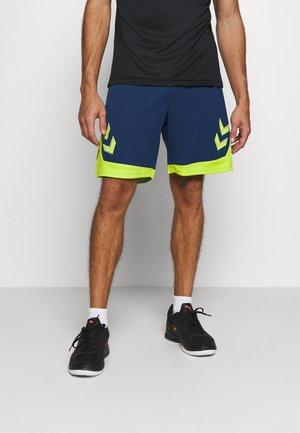 HMLLEAD SHORTS - Sports shorts - dark denim