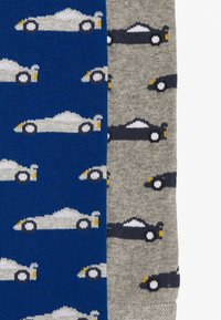 Ewers - KIDSLEGGING CARS 2 PACK - Leggings - blau/grau - 3