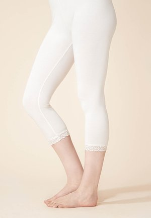 LACES - Leggings - Trousers - offwhite