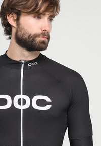 POC - ESSENTIAL ROAD LOGO  - T-shirts print - uranium black - 3