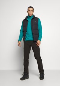 The North Face - MENS GLACIER 1/4 ZIP - Fleece jumper - fanfare green - 1
