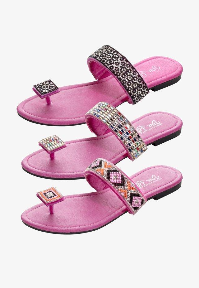 3in1 - Sandalias de dedo - pink