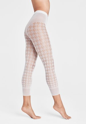 DYLAN CAPRI - Leggings - white