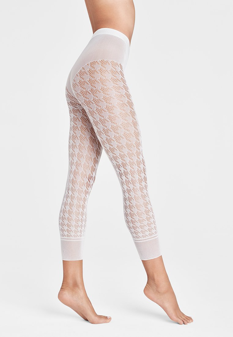Wolford - DYLAN CAPRI - Leggings - Stockings - white