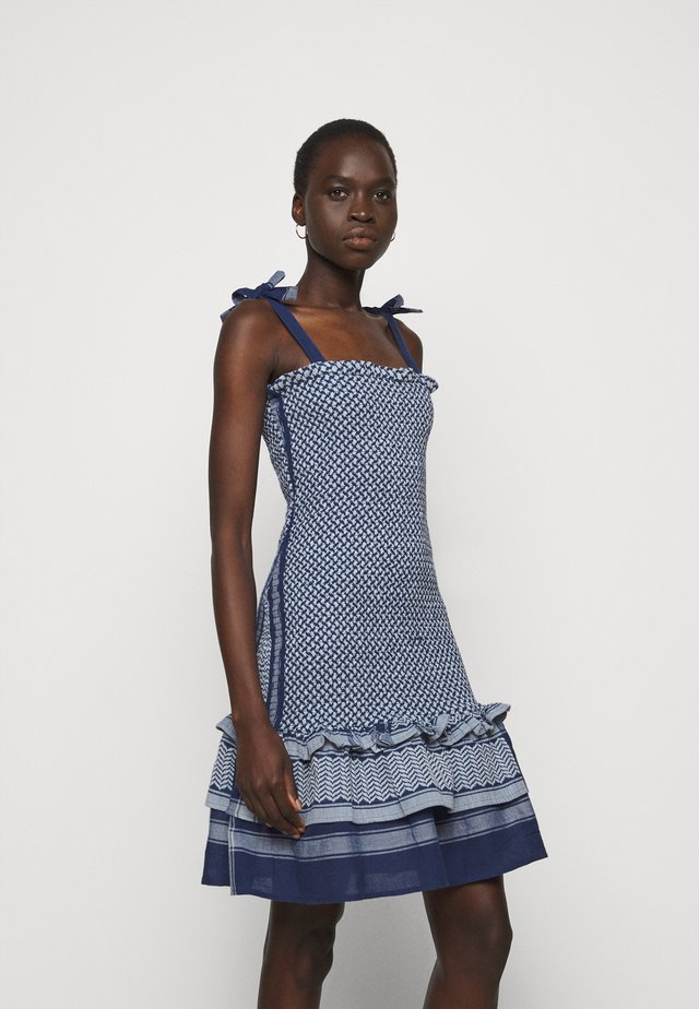 JENNIFER - Sukienka letnia - twilight blue